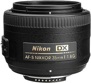 Nikon AF-S DX NIKKOR 35mm f/1.8G Prime Lens, Black