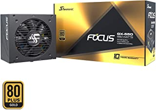 Seasonic FOCUS GX-550 Fuente de alimentación para PC totalmente modular 80PLUS Gold 550 Watt