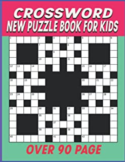 New Crossword Puzzle Book For Kids: 100 Crossword Puzzle Book For Kids Ages 8-12 ( Crossword Puzzle Activity Book For Kids )