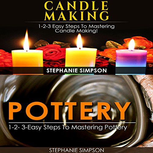Candle Making & Pottery audiobook cover art