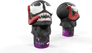 Funded on SharkTank: Marvel Venom Talking Bottle Opener and Desktop Collectible - Best Push Down Automatic Cap Remover - Bottle Hammer with up to 25 Unique and Hilarious Sounds!