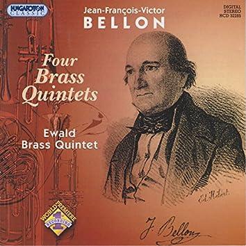 Bellon: Brass Quintets Nos. 1-4