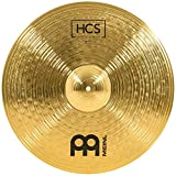 Meinl 20' Ride Cymbal - HCS Traditional Finish Brass for Drum Set, Made in Germany, 2-YEAR WARRANTY (HCS20R)