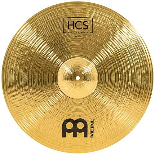 Meinl Cymbals HCS Ride Becken 20 Zoll für Schlagzeug – Messing, traditionelles Finish, HCS20R