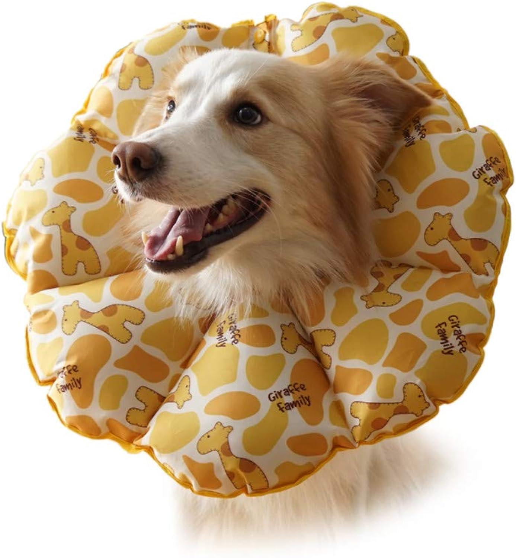 Gulunmun Cat Recovery Collars & Cones Pet Recovery Collar Cats Healing Cone Dogs ECollarat,Neck(3546cm)