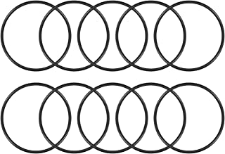 uxcell O-Rings Nitrile Rubber, 110mm Inner Diameter, 120mm OD, 5mm Width, Round Seal Gasket Pack of 10