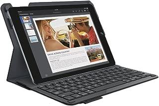 Logitech Type+ Wireless Bluetooth Keyboard Folio Case for Apple iPad Air 2 - Bla