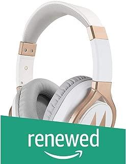 (Renewed) Motorola Pulse 3 Max Wired Headphones (White)