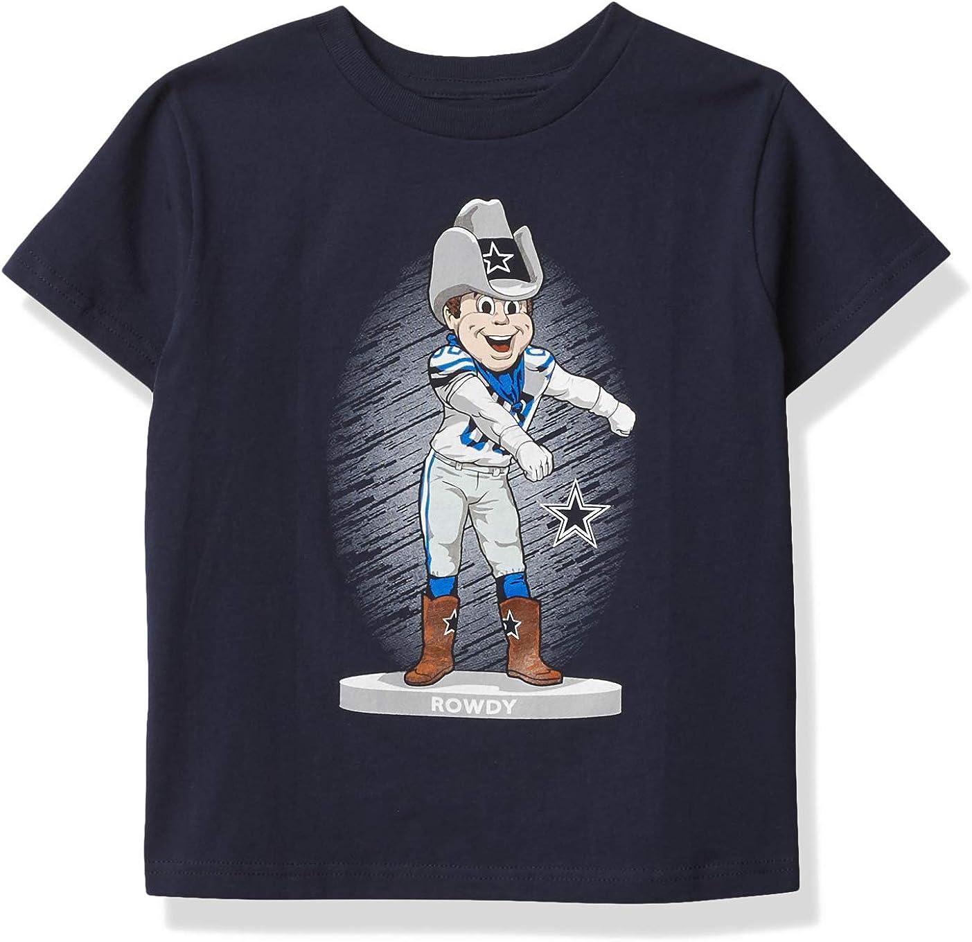 Boston Mall Financial sales sale Dallas Cowboys Boys' Dancing Mascot Cotton Short Kids Sleeve T-S