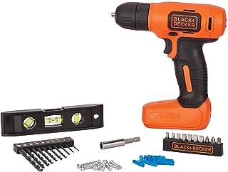 BLACK+DECKER 8V MAX Home Tool Kit, 43 Pieces (BDCD8HDPK)