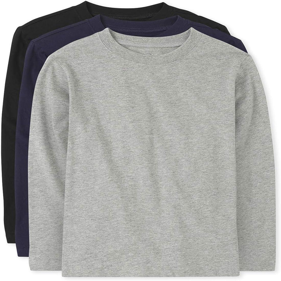 The Children's Place Boys' Long-awaited Uniform 4-Pack Phoenix Mall Basic Tee Layering