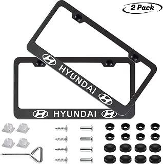 Best hyundai license plate frame Reviews