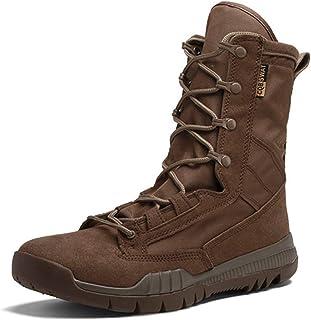 Heren Tactische Laarzen Mode Outdoor Werkschoenen Oxford Doek Mannelijk Schoeisel Cowboy Casual Schoenen Militaire Motorfi...