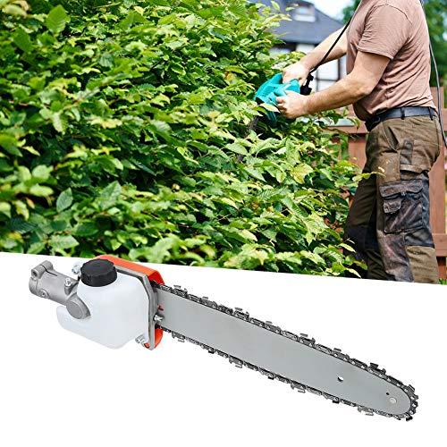 idalinya Sierra de podadora de árboles, Accesorios de cortacésped de 26 mm, para Jardines de césped de Rban Gardens Roads(7 Teeth)