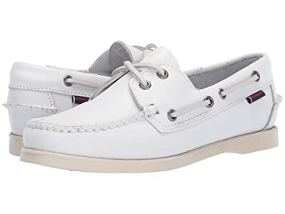 Sebago Dockside Portland (White) Women