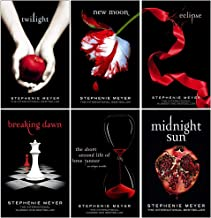 Twilight Series Stephenie Meyer 6 Books Collection Set (Twilight, New Moon, Eclipse, Breaking Dawn, The Short Second Life ...