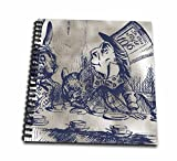 3dRose db_110204_2 Mad Hatter Vintage Alice in Wonderland Tea Party-Memory Book, 12 by 12-Inch