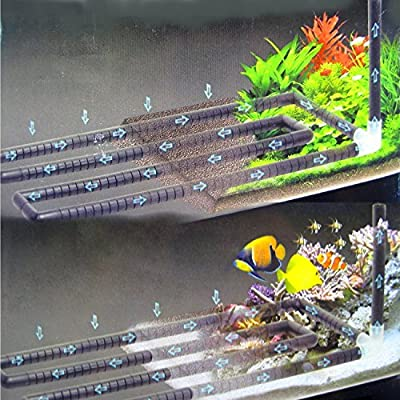 """Undergravel Filteration Bottom Circular Bar 45.3""""x 9.6"""" Under Gravel Filter Tube Aquarium"""