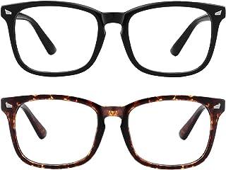 عینک های مسدود کننده نور آبی MEETSUN ، سردرد ضد فشار چشم (خواب بهتر) ، عینک های شفاف رایانه ای UV400