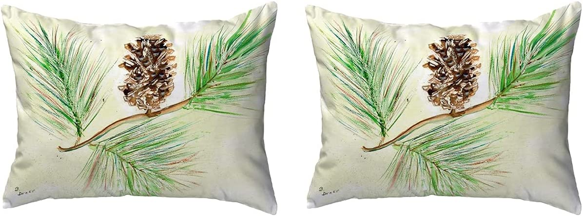 Betsy Max 87% OFF Drake KS161 Throw Pillow 11 inches 2 14 x Multi Manufacturer direct delivery
