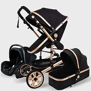 Barnvagnar 3i1 Babyvagn Barnvagn Baby Lättvikts Vikbar, Infant Småbarn Barnvagnar Nyfödda Småbarn Baby Barn Barnvagn Babyk...