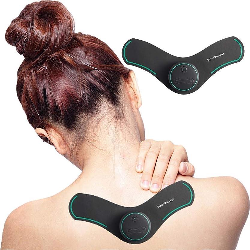 遅らせる不平を言う考古学的なRANRANJJ バックネック坐骨神経痛、疼痛管理、筋肉の軽減に効果的なTENSミニマッサージャー筋肉刺激装置 (Color : Green)