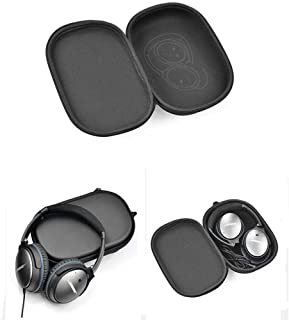Headphone Case for Bose QC35, YouChangBest Protective Carrying Case Hard Travel Bag for Bose QuietComfort 35 (Series II) QuietComfort QC35, QC25, QC2, QC15 Wireless Bluetooth Noise Canceling Headphone