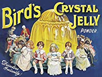 Birds Rystal Jelly ティンサイン ポスター ン サイン プレート ブリキ看板 ホーム バーために