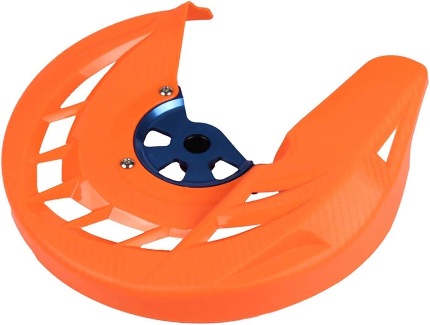 LLKHFA Jacksonville Mall Front Brake Great interest Disc Guard Color Orange Protector Cover :