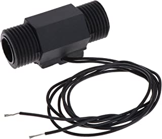HELYZQ Sensor de fluxo de água de plástico magnético G1/2 para máquina de corte de solda a laser