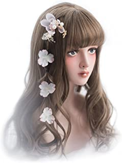 Rulercosplay Fashion Wigs Long Wave Sweet Lolita Wig Natural Cosplay Wig with 3 Colors 21.6'' (Tawney)
