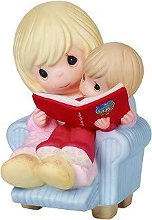 "Precious Moments, I Cherish Our Christmas Together"", Bisque Porcelain Figurine, 161027"