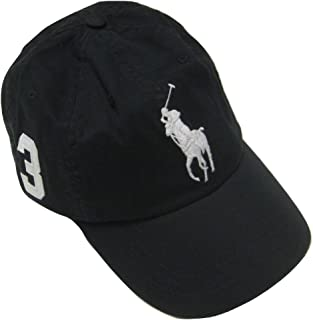 Polo Ralph Lauren Men's Big Pony Chino Sports Hat, Polo Black