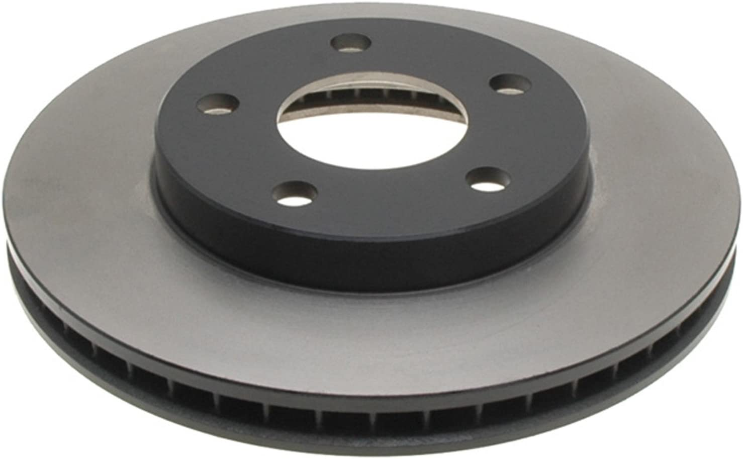 ACDelco Gold 18A816 Black Rapid rise Hat Disc Brake specialty shop Front Rotor