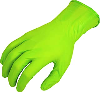 SHOWA N-Dex 9500PF Accelerator-free Disposable Nitrile Glove, Powder Free, Medium (Pack of 50)