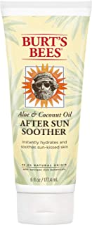 Burt's Bees Aloe & Coconut Oil After-Sun Soother, 6 Oz (Package May Vary)