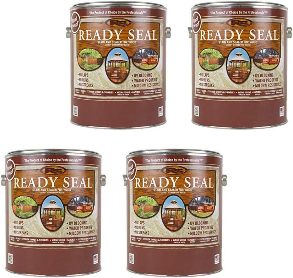 Ready Seal Goof Proof Semi-Transparent 1 year warranty Light Oak Wood Ranking TOP17 Oil-Based