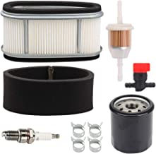 Yermax 11013-2110 Air Filter Fuel Oil Filter for John Deere M74285 AM104560 M97211 LX172 LX176 GT242 Lawn Mower Tractor