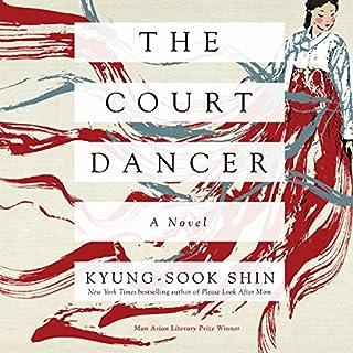 The Court Dancer audiobook cover art