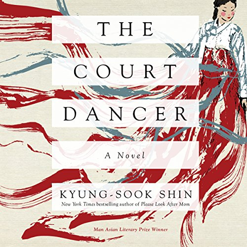 The Court Dancer audiobook cover art