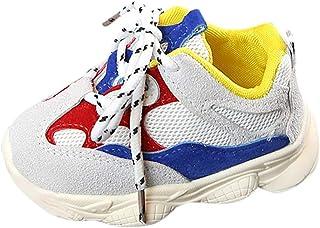 WINJIN Baskets Mode Enfants Bébé Filles et Bébé Garçon Casual Sneakers Running Chaussures de Sport Chaussons Premiers Pas ...