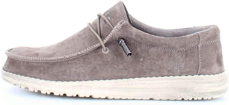 Dude shoes Hey Men's Wally Suede Tan
