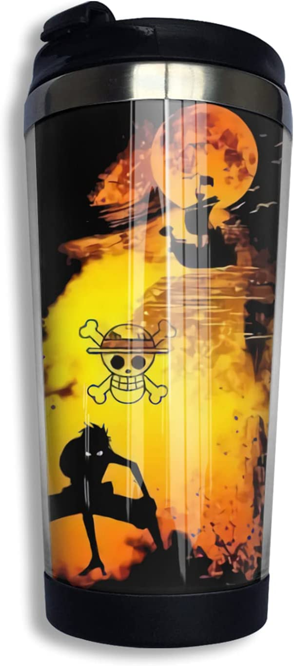 One Piece online shopping Anime Coffee Cup 3d M Mug Print Thermos Max 44% OFF Novelty