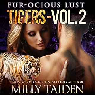 Fur-ocious Lust, Volume Two: Tigers cover art