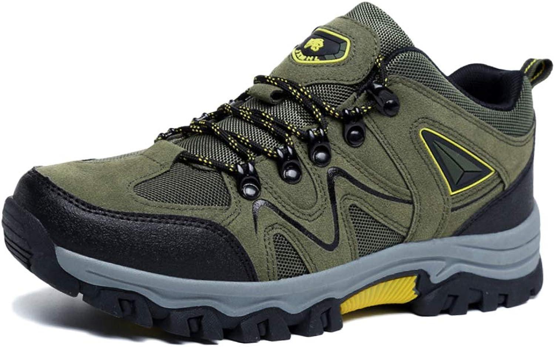 MUGDBS Hiking shoes Men Waterproof Walking shoes Breathable Trekking Spring Outdoor Sneakers Breathable