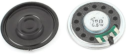 2Stück 0.5W 32Ohm 40mm Kleinlautsprecher Miniaturlautsprecher Mini Lautsprecher