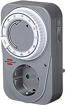 Brennenstuhl Countdown Timer MC 120, mechanische timer stopcontact (timer voor stopcontact met countdown functie en verhoo...