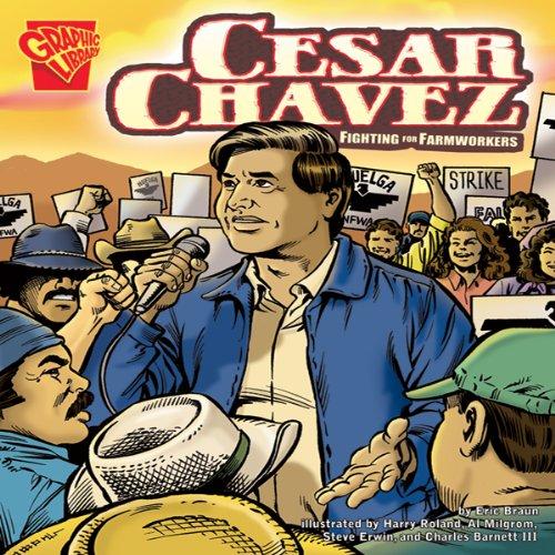 Cesar Chavez audiobook cover art