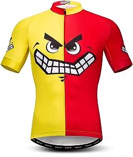 weimo Cycling Jersey Men's Short Sleeve Biking Shirts