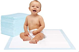 Krankenunterlage für Menschen mit Blasenschwäche   100 Stück   6-lagig saugstarke Inkontinenzunterlage 40 x 60 cm   Ideal auch für Babys oder als Welpenunterlage
